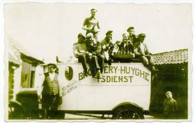 Eerste vrachtwagen